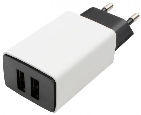 Сетевое зарядное устройство Cablexpert MP3A-PC-15 USB 2.1A белый