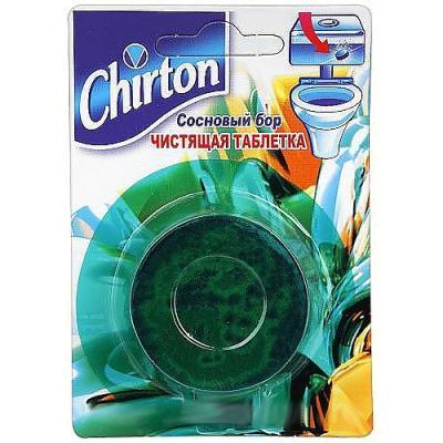 CHIRTON Чистящие Таблетки для унитаза Сосновый бор 50г цена