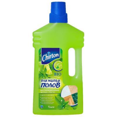 CHIRTON Чистящее средство для мытья полов Лайм и Мята 1000 мл