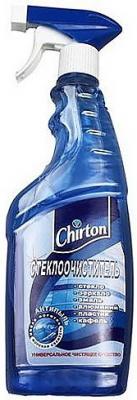 CHIRTON Стеклоочиститель Морская свежесть с распылителем 500мл 250мл ПРОМО