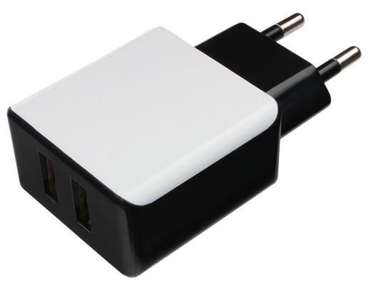 Сетевое зарядное устройство Cablexpert MP3A-PC-14 USB 2.1A черный