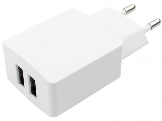 Сетевое зарядное устройство Cablexpert MP3A-PC-13 USB 2.1A белый