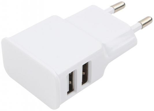 Сетевое зарядное устройство Cablexpert MP3A-PC-11 2.1A белый зарядное устройство digicare powercam ii pch pc cnb10