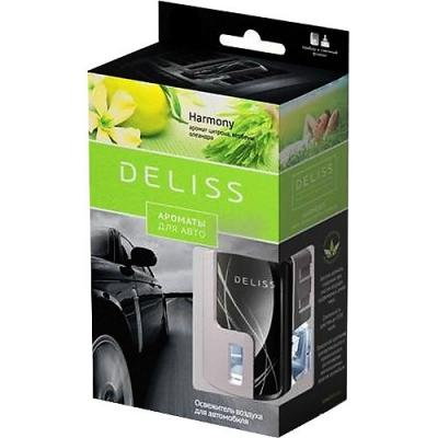 DELISS автомобильный ароматизатор комплект Harmony ароматизатор автомобильный fouette капучино на дефлектор