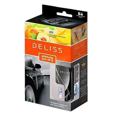 DELISS автомобильный ароматизатор комплект Joy ароматизатор автомобильный fouette капучино на дефлектор