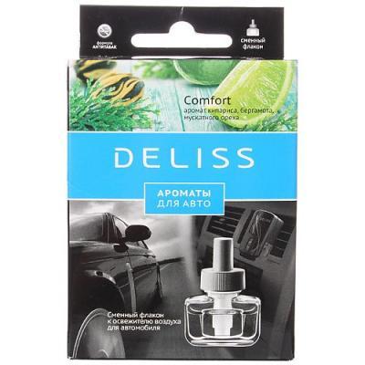 DELISS автомобильный ароматизатор сменный флакон Comfort