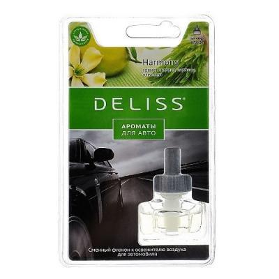 DELISS автомобильный ароматизатор сменный флакон Harmony ароматизатор fouette d 48