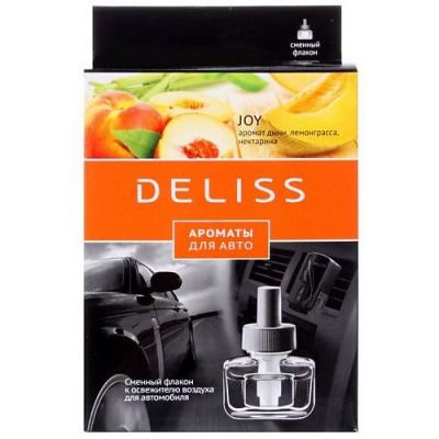 DELISS автомобильный ароматизатор сменный флакон Joy