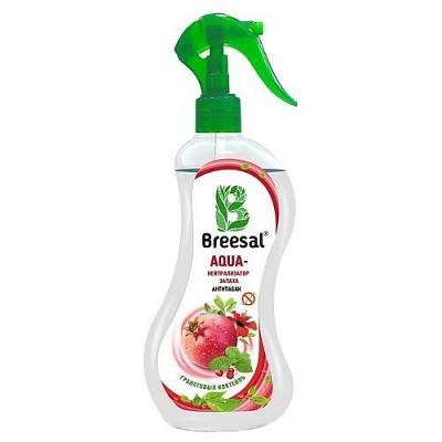Breesal AQUA-нейтрализатор запаха Антитабак Гранатовый коктейль 375 мл цена