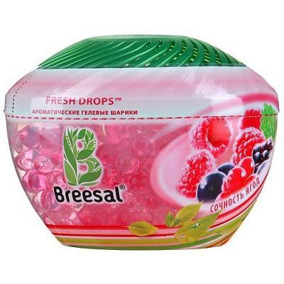 Breesal Гелевые шарики Fresh Drops Сочность ягод ароматизатор fresh way drops океан