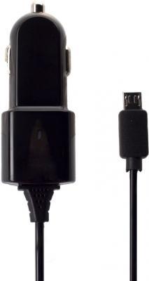 Автомобильное зарядное устройство Partner microUSB 1A черный ПР028251 автомобильное зарядное устройство rexant 16 0250 1a microusb черный