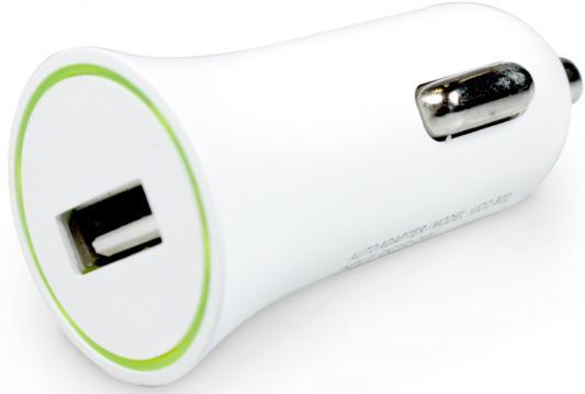 Автомобильное зарядное устройство Partner USB 8-pin Lightning 1A белый ПР033501 partner лягушка универсальное сетевое зу цвет белый черный