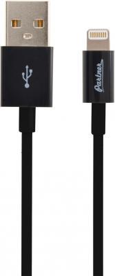 Кабель Lightning 1м Partner круглый ПР033375 кабель lightning 1м wiiix круглый cb120 u8 10b