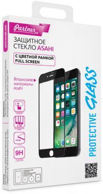 Защитное стекло Partner Full-Screen, красная рамка для iPhone 7 Plus iPhone 8 Plus 0.33 мм ПР037943 0 7 мм ультра тонкий тонкий алюминиевый металлический бампер рамка чехол для iphone 5 5с