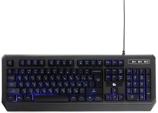 Клавиатура проводная Gembird KB-G20L USB черный цена