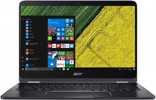 Ноутбук Acer Spin 7 SP714-51-M6QA 14 1920x1080 Intel Core i5-7Y54 NX.GKPER.004 трансформер acer spin 7 sp714 51 m6qa core i5 7y54 8gb ssd256gb intel hd graphics 615 14 ips touch fhd 1920x1080 windows 10