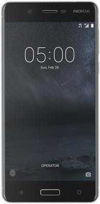Смартфон NOKIA 5 DS серебристый 5.2 16 Гб NFC LTE Wi-Fi GPS 3G 4G nokia c5 03