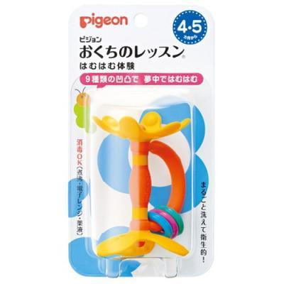 PIGEON Прорезыватель Step 1 4 мес. Цветок стоимость