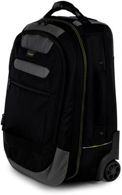 Рюкзак для ноутбука 15.6 Targus CityGear полиэстер черный TCG715EU сумка для ноутбука targus classic clamshell cn418eu 70 black полистер до 18