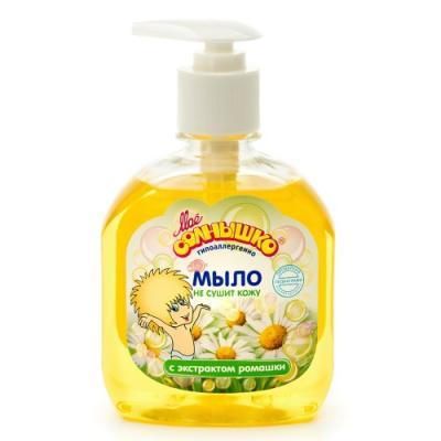 МОЕ СОЛНЫШКО Мыло жидкое с зкстрактом ромашки дозатор 300мл мое солнышко мыло жидкое с зкстрактом ромашки дозатор 300мл
