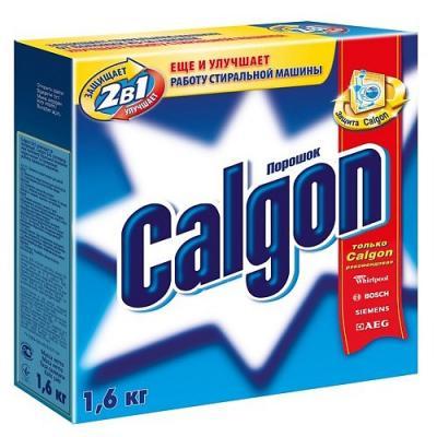 CALGON Средство для умягчения воды 2в1 1,6 кг средство от накипи calgon 2in1 для умягчения воды 550 г