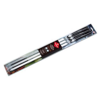 FORESTER Набор шампуров больших в блистере 6шт с деревянными ручками
