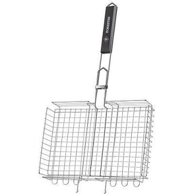 FORESTER Решетка-гриль объемная большая BQ-N03 решетка гриль forester для стейков большая 22х44 bq s02