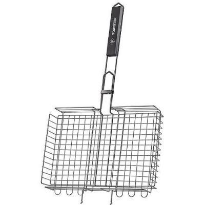 FORESTER Решетка-гриль объемная с антипригарным покрытием решетка гриль forester большая с антипригарным покрытием 26х45 см bq ns02