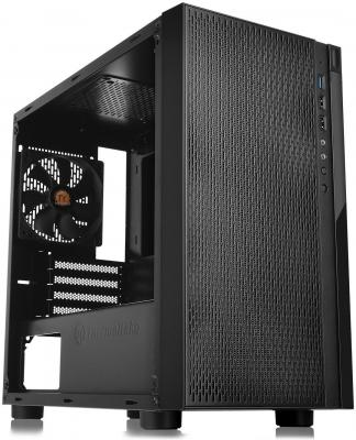 Корпус microATX Thermaltake Versa H18 Window Без БП чёрный (CA-1J4-00S1WN-00) thermaltake suppressor f1 ca 1e6 00s1wn 00 black