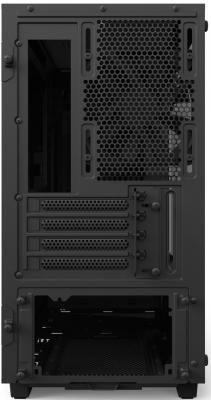 Корпус microATX NZXT H400I Без БП чёрный CA-H400W-BB