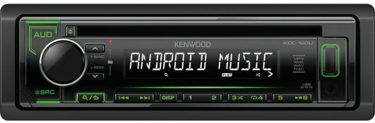 Автомагнитола Kenwood KDC-120UG USB MP3 CD FM RDS 1DIN 4х50Вт черный bondibon логическая игра антивирус bondibon
