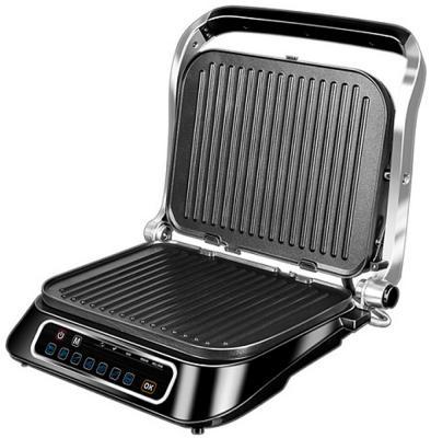 Электрогриль Redmond SteakMaster RGM-M805 чёрный серебристый цена