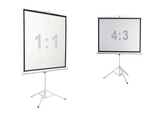 лучшая цена Экран напольный Digis Kontur-D DSKD-4302 130x172см