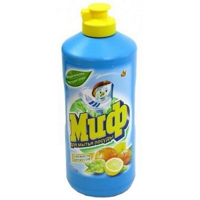МИФ Средство для мытья посуды Свежесть цитрусов 500мл миф