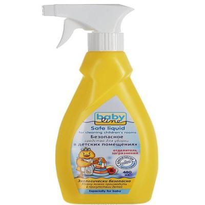 BABYLINE Безопасное средство для уборки детских помещений,480 мл