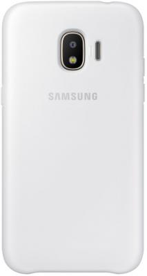 Чехол Samsung для Samsung Galaxy J2 2018 Dual Layer Cove белый EF-PJ250CWEGRU смартфон samsung galaxy j2 prime gold