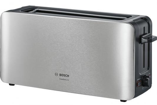 Тостер Bosch TAT6A803 серебристый тостер bosch tat8613