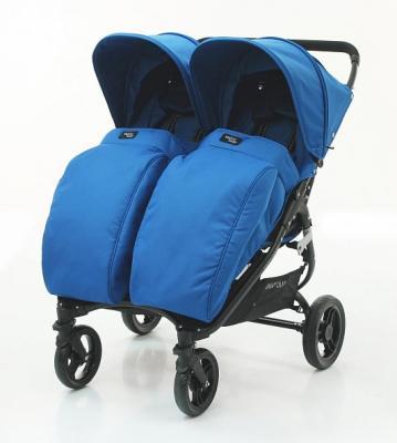 Купить Накидка на ножки Valco Baby Boot Cover Snap Duo (ocean blue), Муфты и накидки для ножек