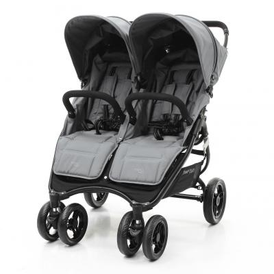 Прогулочная коляска для двоих детей Valco Baby Snap Duo (cool grey) коляска для двойни valco baby snap duo cool grey