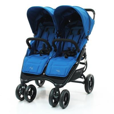 Прогулочная коляска для двоих детей Valco Baby Snap Duo (ocean blue)