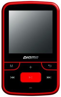 Плеер Digma T3 8Gb черный/красный
