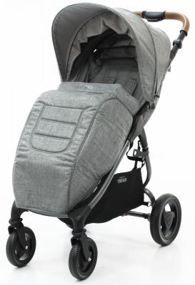 Накидка на ножки Valco Baby Boot Cover Snap/Snap 4 Trend (grey marle) люлька valco baby external bassinet для коляски snap trend snap 4 trend ultra trend grey marle