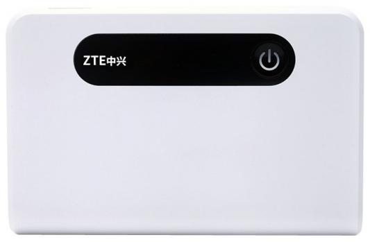 Беспроводной маршрутизатор ZTE MF903 802.11bgn 150Mbps 2.4 ГГц 1xLAN USB белый