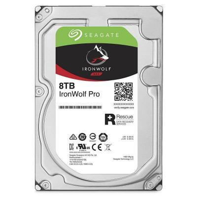Жесткий диск 3.5 8 Tb 7200rpm 256Mb cache Seagate Ironwolf Pro SATAIII ST8000NE0004 жесткий диск 10tb seagate ironwolf pro st10000ne0004