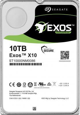 """Жесткий диск для сервера 3.5"""" 10Tb 7200rpm Seagate SATAIII ST10000NM0086 цена и фото"""