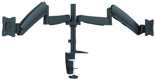 Фото - Кронштейн для мониторов Ultramounts UM 703 черный 13-27 настольный поворот и наклон верт.перемещ макс.9кг кронштейн