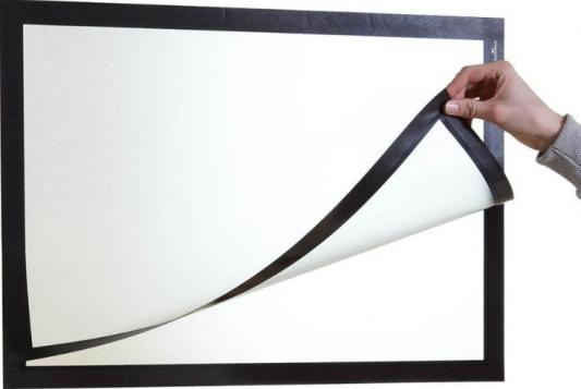 Магнитная рамка Durable Duraframe Poster A2 настенная черный 499501 durable duraframe a3 4873 23 a3