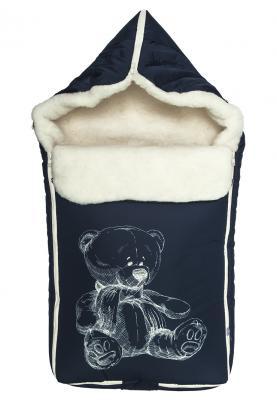 Конверт Сонный Гномик Микка (темно-синий) конверт детский сонный гномик конверт зимний микка молочный