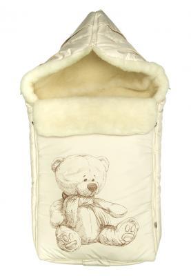 Конверт Сонный Гномик Микка (молочный) конверт детский сонный гномик конверт зимний микка бежевый