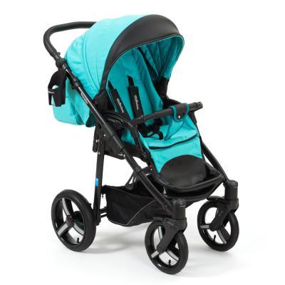 Прогулочная коляска Mr Sandman Traveler Premium (бирюзовый - черный/SL12) коляска прогулочная mr sandman traveler premium бирюзовый графит в принт бирюзовый kmstp 0610sl08